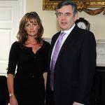 Polly with Gordon Brown 2