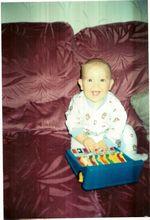 Josh happy baby