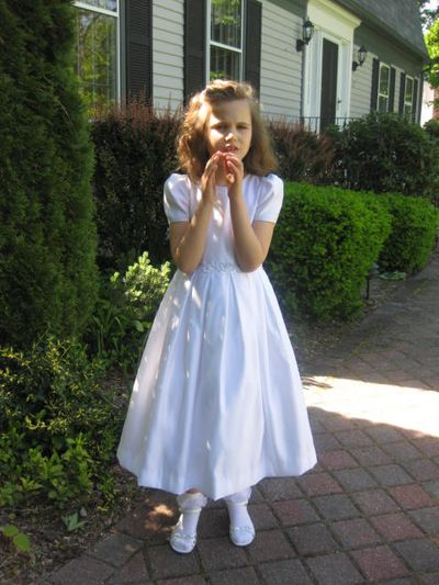 Bellas First Communion 021