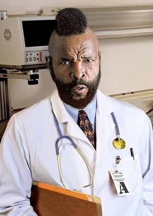 Mr. t doctor
