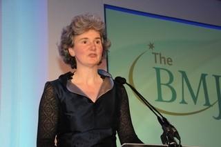 Fiona Godlee, editora jefe del BMJ.