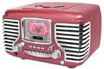 Retro pink radio