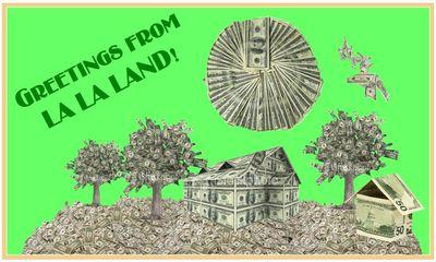 La La Land Postcard