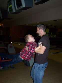 Cody and Harrison swinging