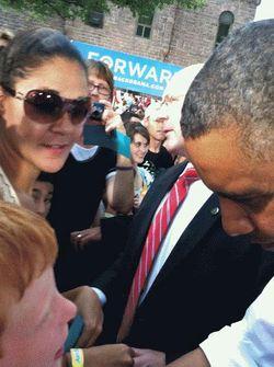 Sam President Obama