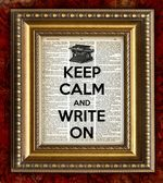 Keep Calm Write On