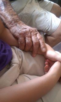 Grandpy hand