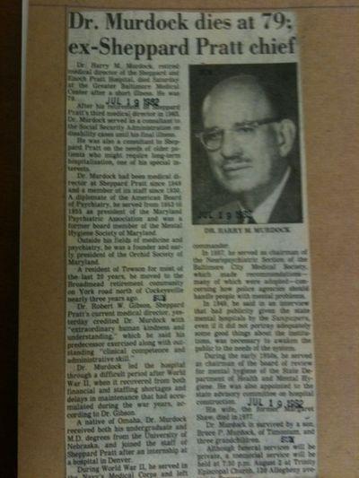 Murdock obituary