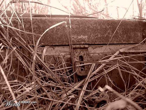 Rusty toolbox
