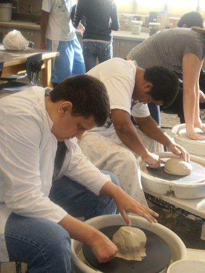 James Frye pottery
