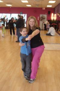 Shirley and Dan dancing