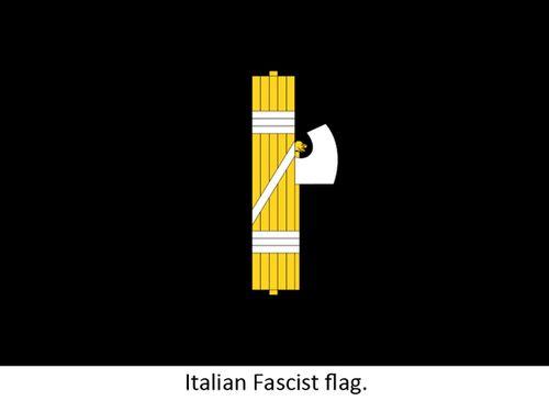 Fascist flag