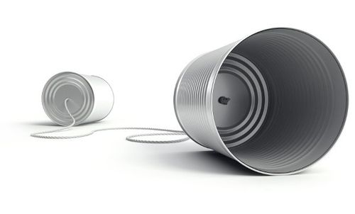 Tin-can-telephone