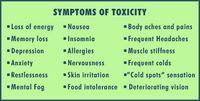 Metals symptoms