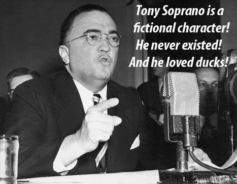 AG Hoover Tony Soprano