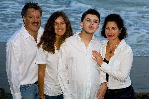 Chantal and family