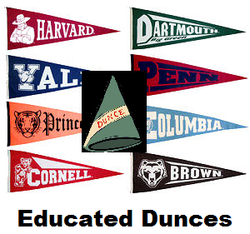 Educated dunce
