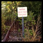 Track warning
