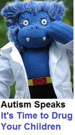 Autism speaks puppet