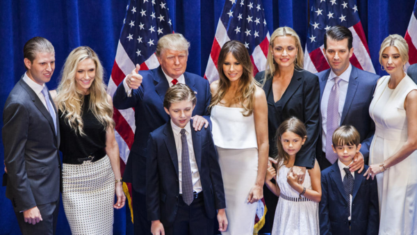 Trump with Family
