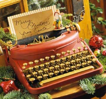 Vintage-Christmas-Typewriter