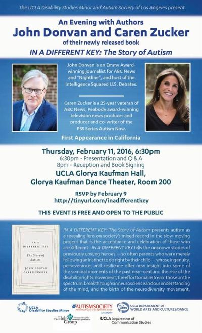 Different Key Book Event UCLA