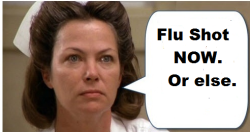 Nurse Flu Shot