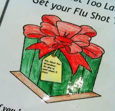 Flu shot gift