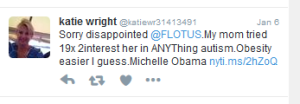 Katie Tweet FLOTUS