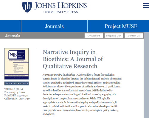 Hopkins journal