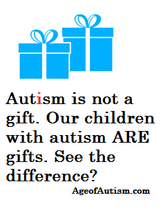 Autism is not a gift