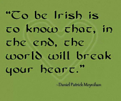 Irish break your heart
