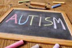Autism chalkboard