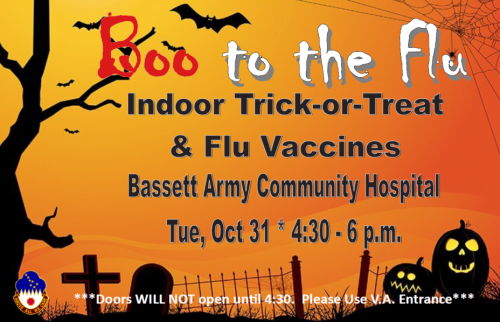 Boo Flu trick or treat