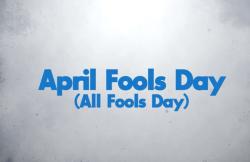 April Fool Blue
