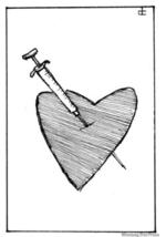 Heart-syringe
