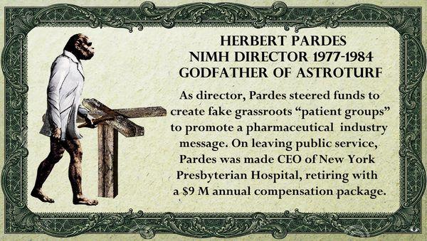 1 Herbert Pardes NIMH Revolving Door Adriana Gamondes