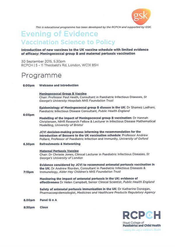 GSK Programme