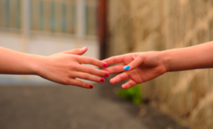 Women hands