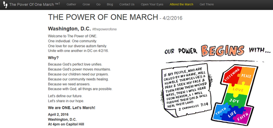 Power of one march