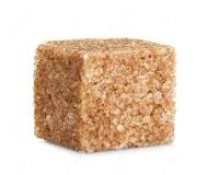 DO 6 brown sugar cube