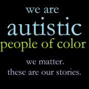 Autistic people of color