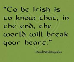 Irish break your heart