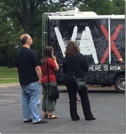 Vaxxed bus looking