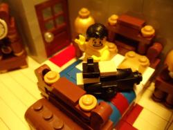 Lego horse head