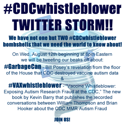 CDC Whistleblower Garbage Campaign