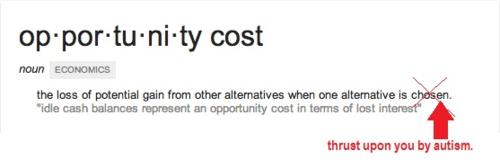 Opp cost