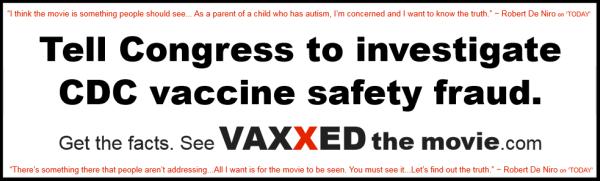 VaXxed bumper sticker