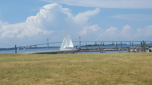 RI bridge sailboat