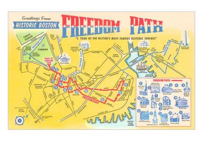 Freedom-trail-map-of-historic-boston-massachusetts